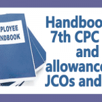 Handbook on 7th CPC Pay and allowances of JCOs and ORs