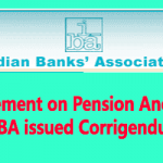 Judgement on Pension Anomaly