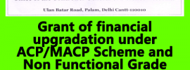 MACP and Non Functional Upgradation to Pharmacists