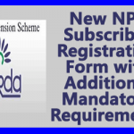 New NPS Subscriber Registration Form