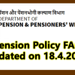 Pension Policy FAQ