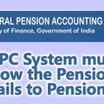 CPPC System must show the Pension Details to Pensioners