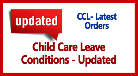 Child Care Leave Conditions