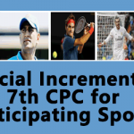 Special Increment in 7th CPC for Participating Sports Events