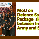 Defence Salary Package MoU signed between Indian Army and SBI
