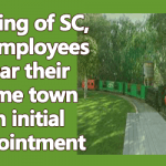 Posting of SC, ST employees near their home town on initial appointment
