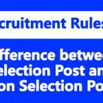 Difference between Selection Post and Non Selection Post