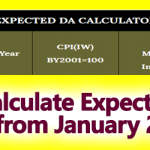 January 2019 DA Calculator