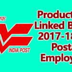 Productivity Linked Bonus 2017-18 for Postal Employees