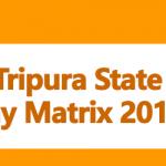 Tripura State Pay Matrix 2018