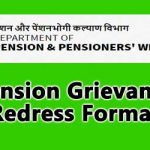 Pension Grievance Redress Format