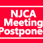 NJCA Meeting Postponed