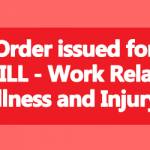 WRILL Work Related Illness and Injury Leave