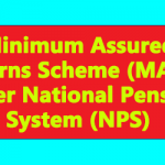 Minimum Assured Returns Scheme (MARS) under National Pension System (NPS)