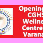 Opening of CGHS Wellness Centre at Varanasi