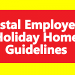 Postal Employees Holiday Home Guidelines