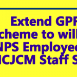 Extend GPF Scheme to willing NPS Employees - NCJCM Staff Side