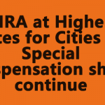 HRA at Higher Rates for Cities on Special Dispensation shall continue