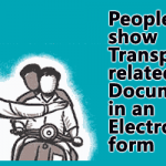 People can show Transport related Documents in an Electronic form