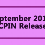 September 2019 AICPIN Released