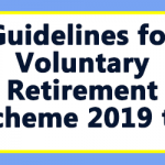 Guidelines for Voluntary Retirement Scheme 2019 to BSNL Employees