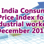 All India Consumer Price Index Number for Industrial workers December 2019