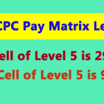 7th CPC Pay Matrix Level 5