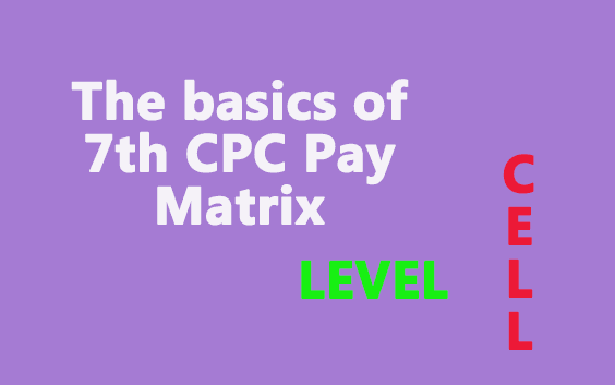 Pay matrix Basics