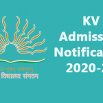KV Admission Notification 2020-21 will be issued soon