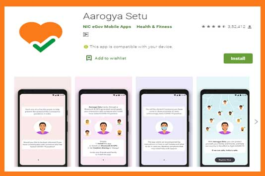 All Central Govt Staff must use Arogyasetu App to Break the Chain of COVID 19