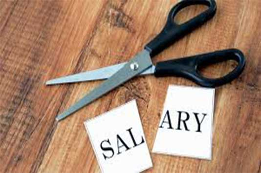 NCJCM Staff Side Protests against freezing of Dearness Allowance