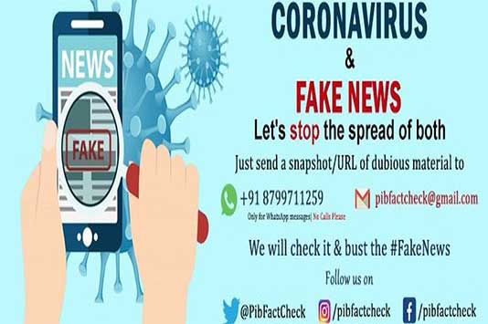 PIB Fact check team busting fake News and misinformation on Govt policies