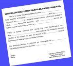 Children Education Allowance Bonafide Certificate and application Proforma