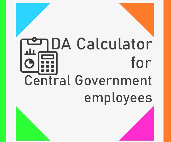 Expected Dearness Allowance Calculator from July 2020