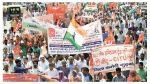 Nationwide Protest on 22.5.2020 in front of Central Govt offices